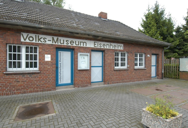 exterior view at the public-museum in Eisenheim